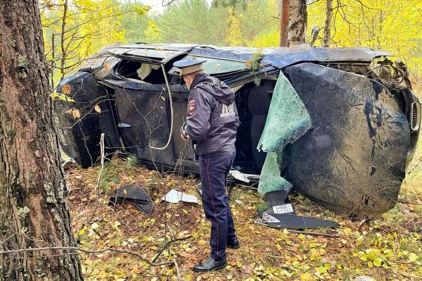 Водитель погиб до приезда скорой помощи