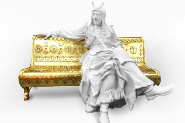 Самарская «бабушка» будет выполнена в бронзе, как и остальные скульптуры арт-проекта BY в России