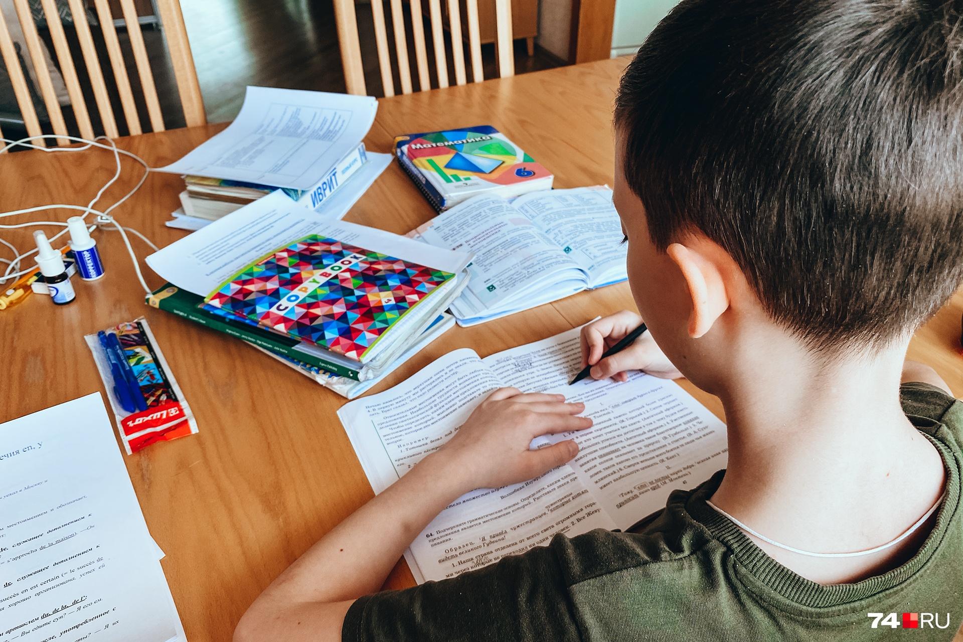 В Челябинске за два года в два с половиной раза выросло число детей, перешедших на семейное обучение