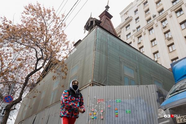 Пришедший в плачевное состояние памятник чиновники хотят убрать с улицы Самарской
