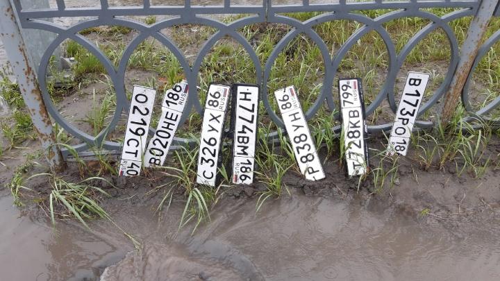 В Нижневартовске затопило ковидный госпиталь, торговые центры и дворы. Смотрите видео