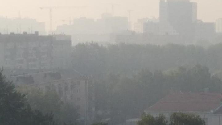 В Тюмени опять жуткий запах гари. Что горит?