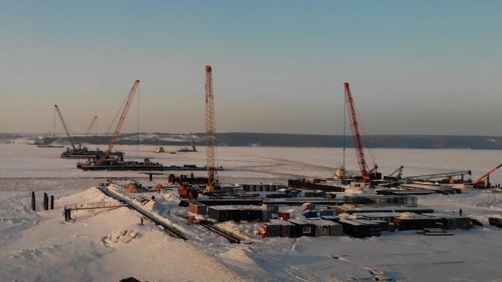 Собирать мост через Волгу у Климовки начнут в апреле