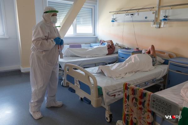 Число заболевших коронавирусом в Волгограде не уменьшается
