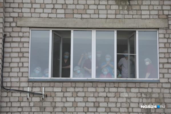 В Красноярске снова разворачивают новые площади для больных ковидом
