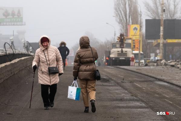 Мост на Малиновского перекрыли с 4 января
