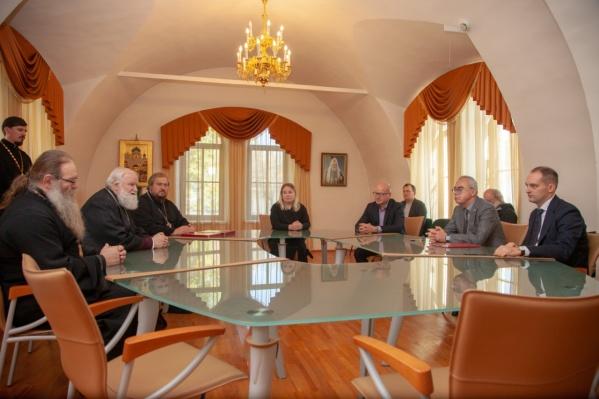 Подписание соглашений — новый шаг в развитии инвестпроекта «Ростов Великий — духовный центр России»