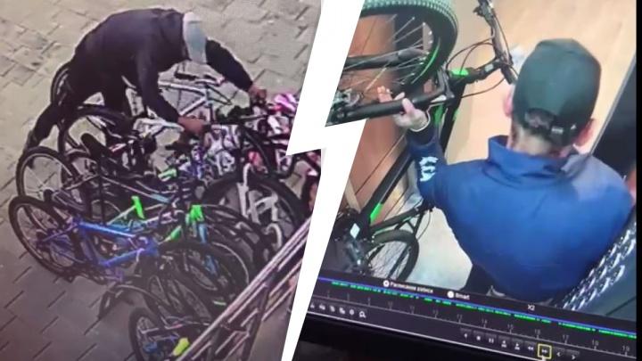 В Екатеринбурге банда веловоров обчистила парковку высотки на Ботанике. Видео