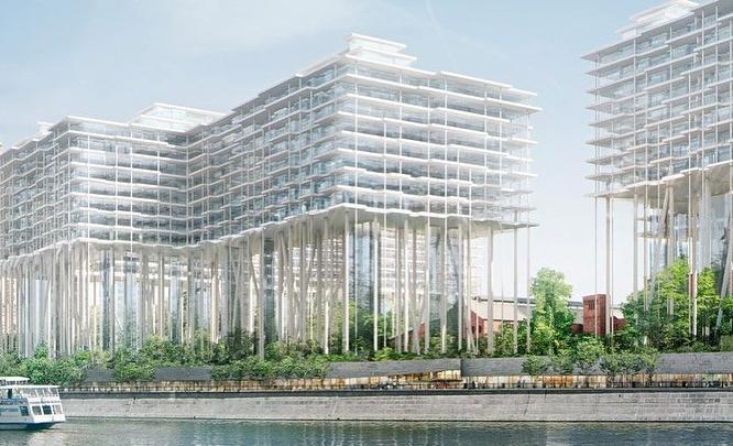 Иностранцы и москвичи придумают, что построить на берегу Исети в центре Екатеринбурга