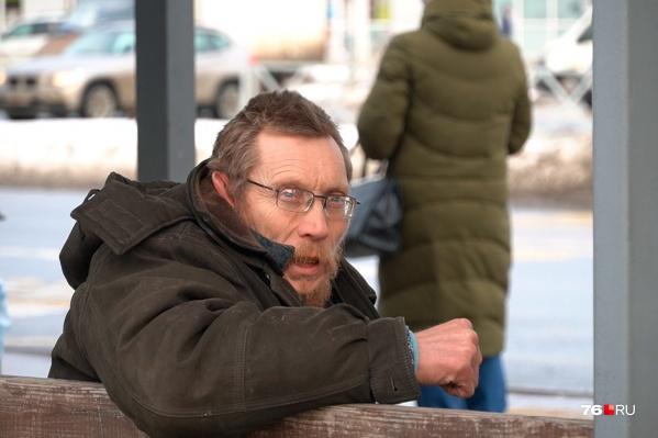 Сергей Челноков прикован к остановке