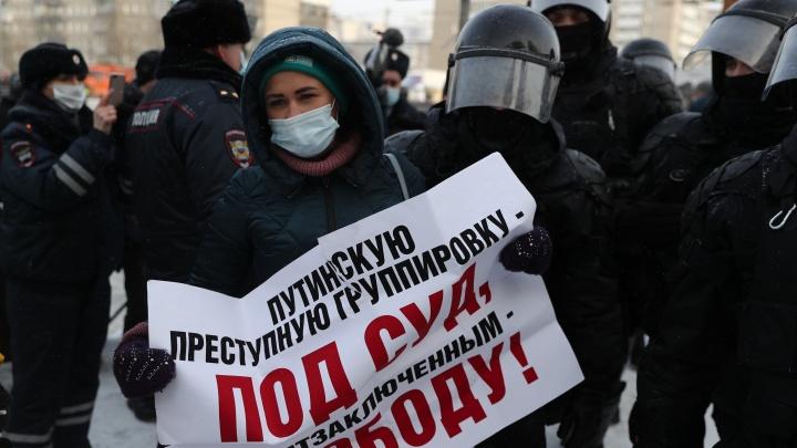 Почти сотня задержанных и один в больнице — итоги новосибирской акции протеста в семи карточках