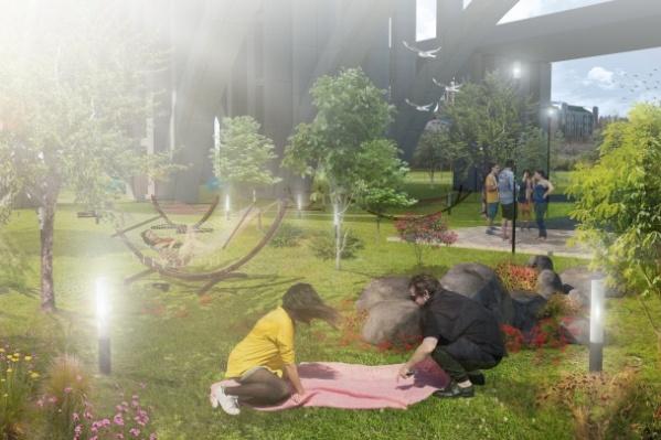 Столичные архитекторы предлагают оставить пойму зеленым уголком
