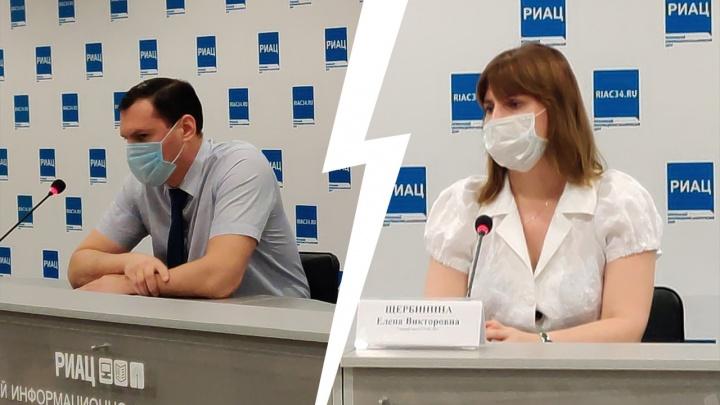 Пациентов всё больше, состояние всё тяжелее: в Волгоград пришла третья волна коронавируса