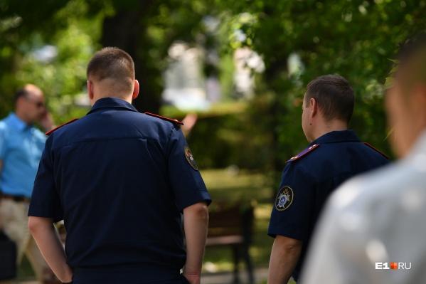 Полиция задержала мужчину по горячим следам