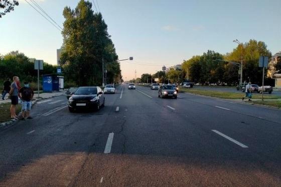 Иномарка ехала в сторону Приморского бульвара и не заметила женщину