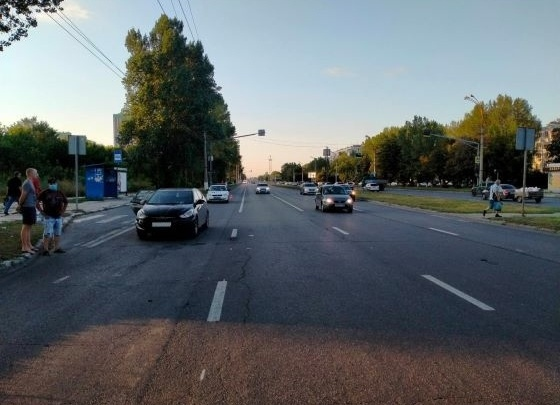 «Солярис» сбил женщину на Московском проспекте
