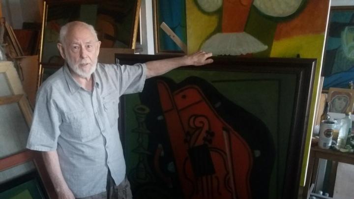 «Вот и не верь после этого в приметы»: волгоградский краевед вспоминает художника Глеба Вяткина