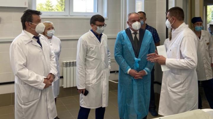 Пропавший министр здравоохранения Омской области нашелся