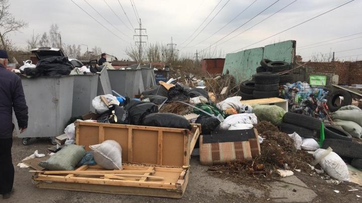 За майские каникулы левобережный региональный оператор вывез из Красноярска почти 7000 тонн отходов