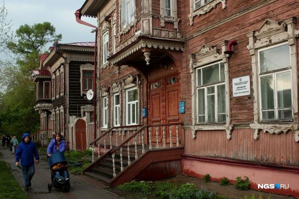 Улицы Томска позволят совершить небольшое путешествие во времени