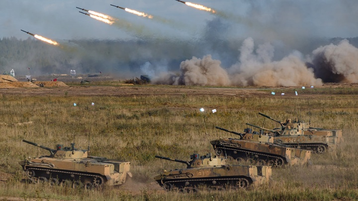 В Нижегородской области прошли армейские учения «Запад-2021». Смотрим, как это было