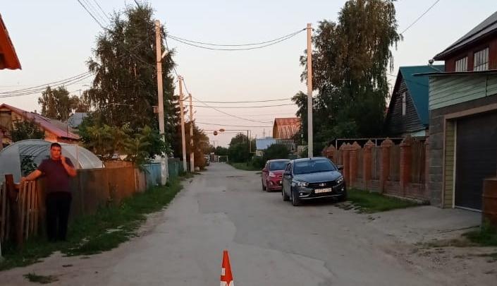 В Ленинском районе водитель «Мазды» сбил 5-летнюю девочку на велосипеде