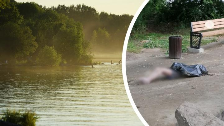 В Шарташе утонул мужчина. Пришлось вызывать водолаза, чтобы найти тело
