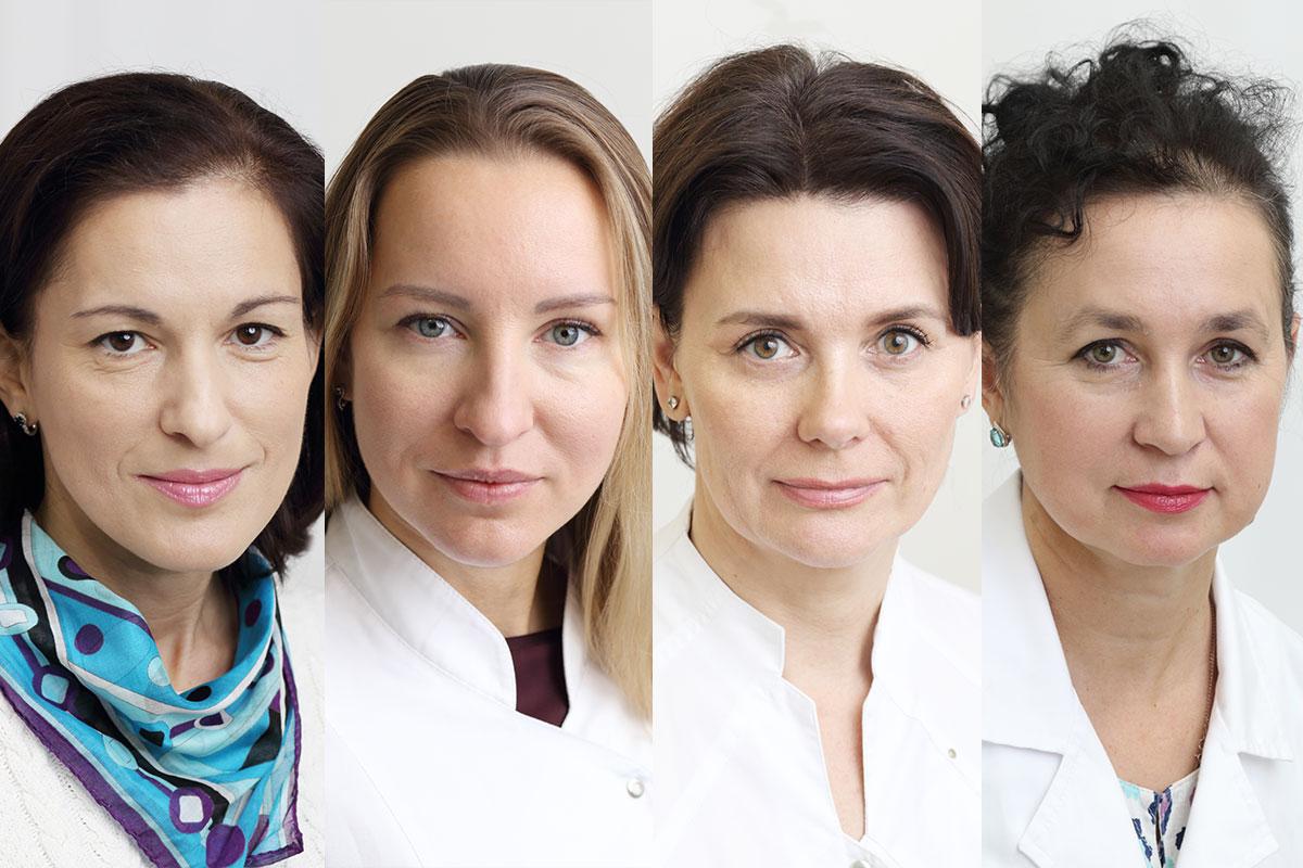 Слева направо:психолог Наталия Софронова, нейропсихолог Ирина Сарпова, логопед Марианна Резникова, невролог Светлана Гуляева