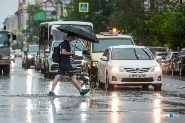 Дожди будут идти всю неделю