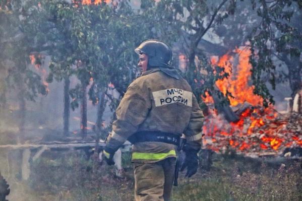 Сотрудники МЧС по Курганской области могут получить государственные и ведомственные награды за тушение майских пожаров в Кургане