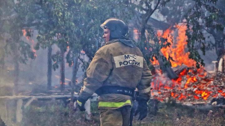 Курганских пожарных представили к государственной награде