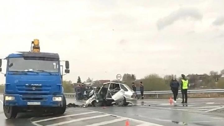 Двое мужчин погибли в ДТП с КАМАЗом на кстовской объездной