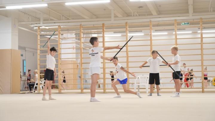 В Красноярске открылся набор на художественную гимнастику для мальчиков