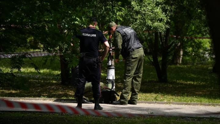 Полицейские раскрыли, как задержали мужчину с ножом в сквере у вокзала в Екатеринбурге