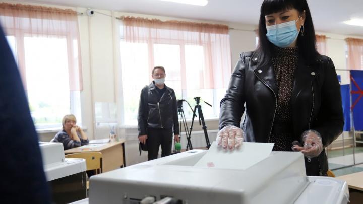 Глава Кургана Елена Ситникова проголосовала на выборах в Госдуму