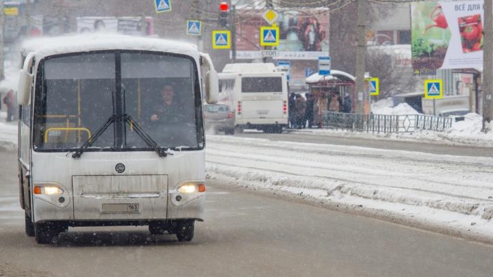 В Самаре планируют сократить два автобусных маршрута