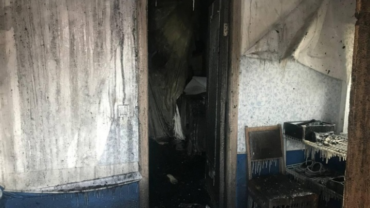 В новосибирском МЧС назвали возможную причину пожара, в котором погибли двое детей
