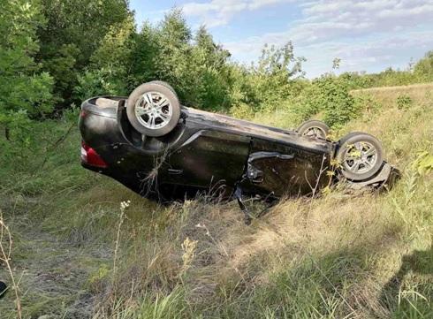 От судьбы не уйдешь: в Самарской области водитель Renault погиб в ДТП с перевертышем
