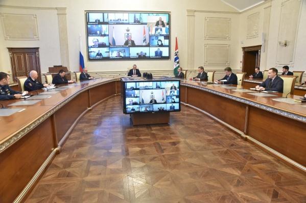 В правительстве прошло оперативное совещание