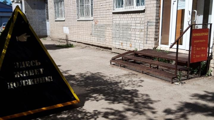 Не лучшая реклама: в Самаре «пирамиды позора» на колесиках запустили около офисов неплательщиков