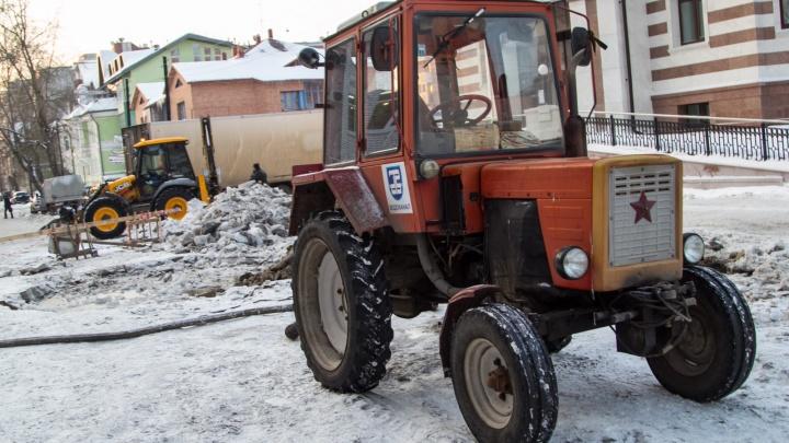 Отключают целыми улицами: какие дома в Архангельске остались без света, воды и отопления