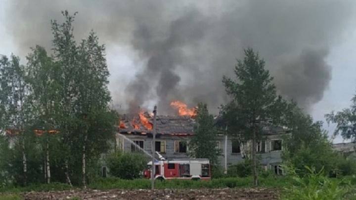 Названа предварительная причина пожара, из-за которого Архангельск в пятницу встал в пробках