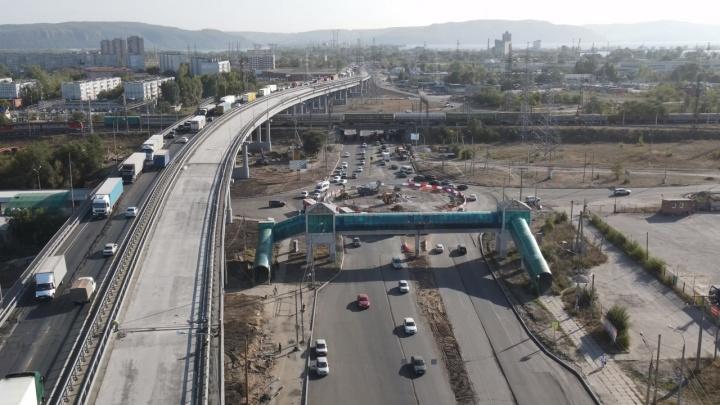 В Самарской области перекрыли часть трассы М-5