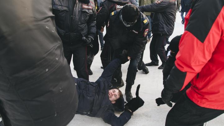 В Челябинске активиста арестовали за репост приглашения на акцию протеста