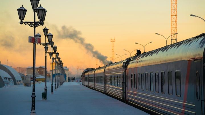 В феврале и марте из Архангельска будут ездить дополнительные поезда в Москву и Карпогоры
