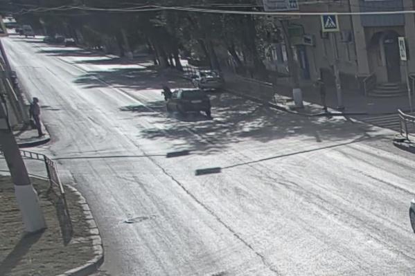 Авария произошла 19 сентября в Краснооктябрьском районе