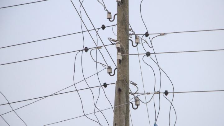 В Архангельске перебои с электричеством