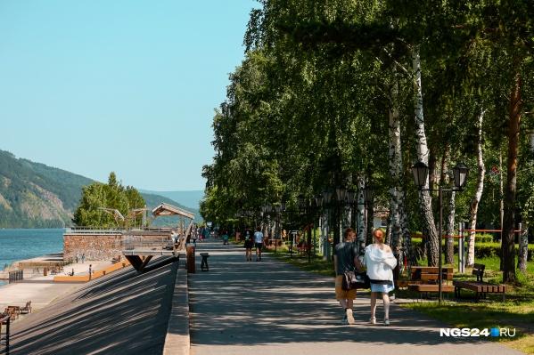 Недалеко от Красноярска есть очень красивые места для прогулок