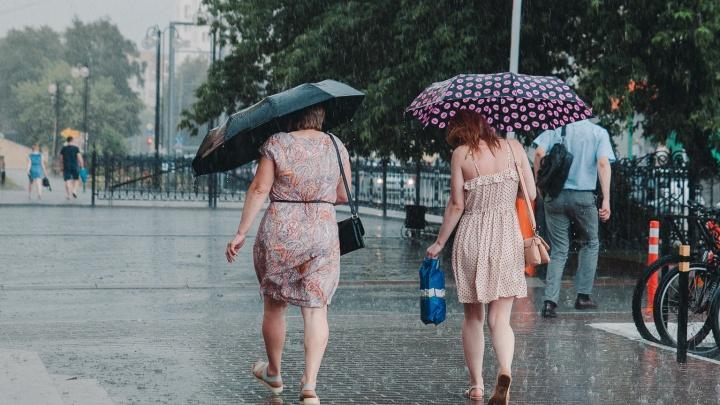 Пик холодной погоды ждет тюменцев в середине июля