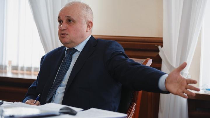 Цивилёв рассказал, зачем стал губернатором Кузбасса